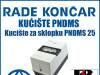 Kucište za sklopku/sklopke PNDMS 25