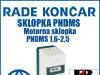 Motorna sklopka/sklopke PNDMS 1,6-2,5