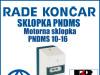 Motorna sklopka/sklopke PNDMS 10-16