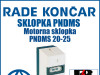 Motorna sklopka PNDMS 20-25