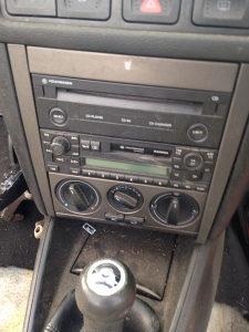 CD radio komande grijanja klime VW bora 2002