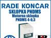 Motorna sklopka/sklopke PNDMS 4-6,3