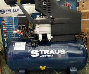 kompresor zraka uljni 50L Straus austrija