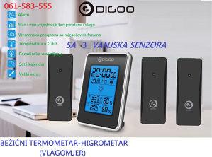 Bežični termometar higrometar vlagomjer