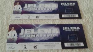 Dvije karte za koncert Jelene Tomasevic
