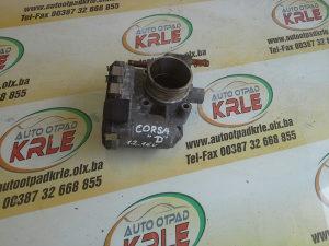 Difuzor klapna gasa Corsa D 1.2 B 24420536 KRLE 12938