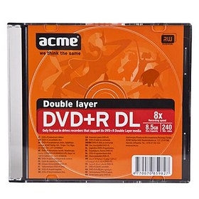 ACME DVD R Double Layer 8.5GB Slim Box