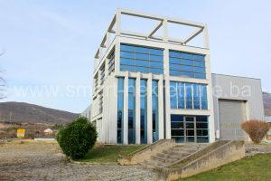 Proizvodna hala sa upravnom zgradom u Salakovcu, Mostar