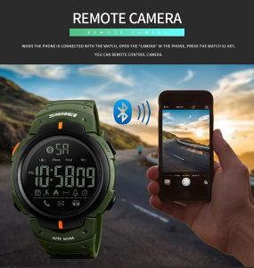 SKMEI muški digitalni ručni sat,pedometar,bluetooth#558