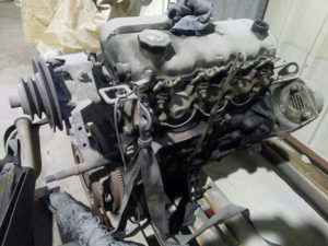 Motor peugeot J5 2.5 dizel