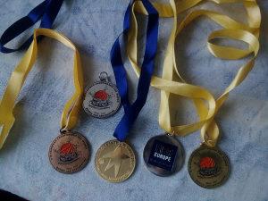 Sportske medalje.