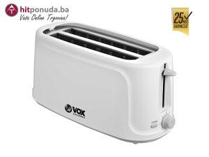 VOX Toster TO-7000 1450 W , 4 utora