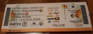 Karte za utakmicu BiH-Švicarska