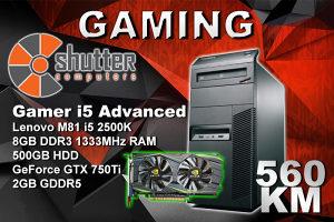 Gaming i5 Advanced - Gaming Računar i5 2500K