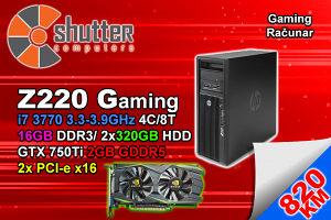 Z220 Gaming i7 3770 3.Gen GTX 750Ti