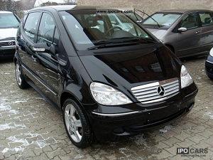 Mercedes A klasa u dijelovima