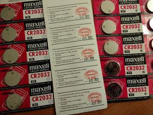 Maxell CR2032/JAPAN