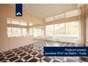 Poslovni prostor površine 57m² na Slatini, Tuzla