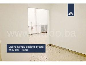 Višenamjenski poslovni prostor na Slatini, Tuzla