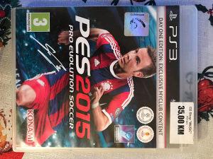 PES 15 2015 ZA PLAYSTATION 3 PS3 *ORGINAL*  PS3