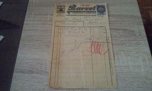 Stari trgovački račun Subotica iz 1923 g.