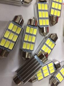 Canbus LED ERROR FREE sijalice za auto tablicu 39mm