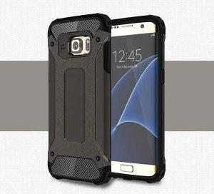 Samsung S6 Edge armor maska CRNA