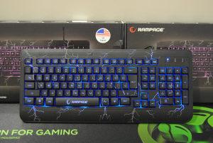 Gaming tastatura sa 3 LED svjetla RAMPAGE CRASH