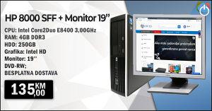 SET Računar i Monitor LCD 19''