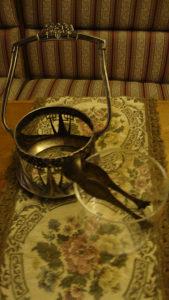 Antikvarni srebrni šećerluk
