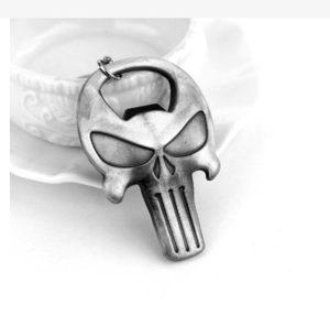 Privjezak za Kljuceve Metalni Lobanja - Otvarac za Boce