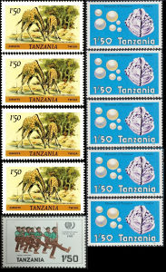 TANZANIJA 1985 - Poštanske marke - 0938 - ČISTE