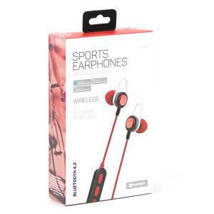 Platinet Bluetooth Slušalice Sport - PM1068 Red