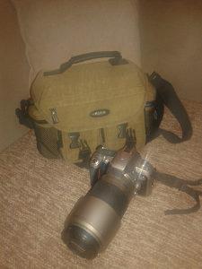 Nikon N75 + Nikkor AF 70-300 Foto aparat