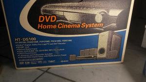 Kućno kino Samsung HT-DS100, 255W, 5.1ch, AM/FM Tuner