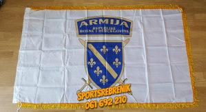 Zastava Armije BH Bosna Ljiljani bosanska