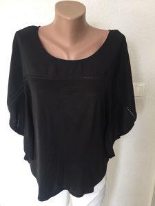 Majica zenska L, hm, crna, mis fazon