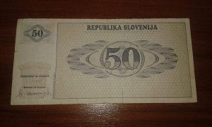 Novcanica Slovenije