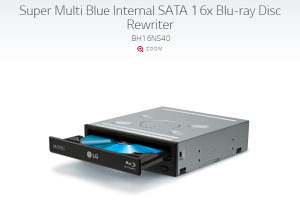 Super Multi Blue 16x Blu-ray Disc Rewriter
