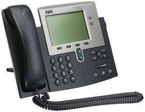 Cisco VoIP telefoni
