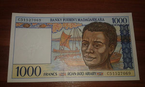 Novcanica Madagaskar