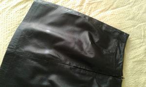 Zenska suknja kozna