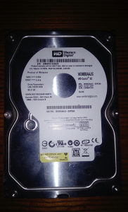 HARD DISK 80GB WESTERN DIGITAL
