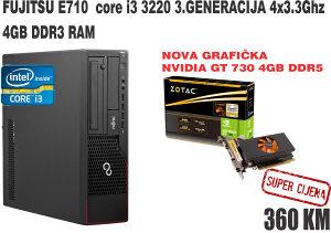 Računar GAMER i3 3220 3.3GHz-NVIDIA 4GB DDR5