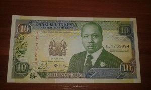 Novcanica Kenija