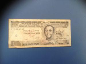 Novčanice ETIOPIJA