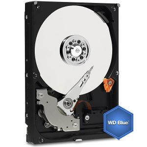 Hard disk 2TB HDD WD Blue (3.5'', 64MB, SATA 6 Gb/s)