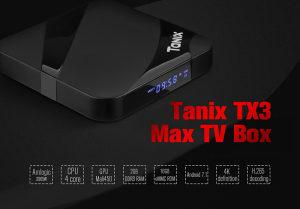 IPTV Android BOX Tanix TX3 MAX NOVI MODEL!