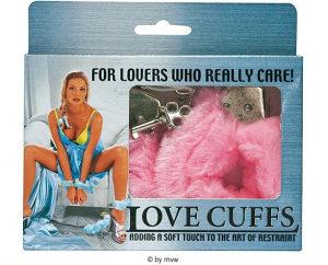 Lisice krznene roze Sex Shop LoveStories