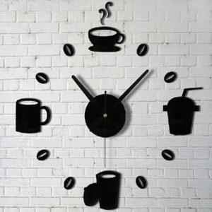 Coffe Zidni Dekorativni sat